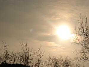 To jest zaćmienie słońca, piękne... ale piękniejsze jest bez zaćmienia