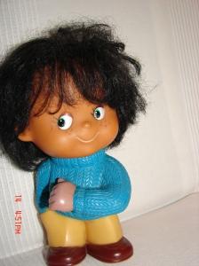 To mój śliczny Piotruś, ukochana zabawka-pamiątka
