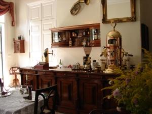 Fragment sali w restauracji Carska w Białowieży